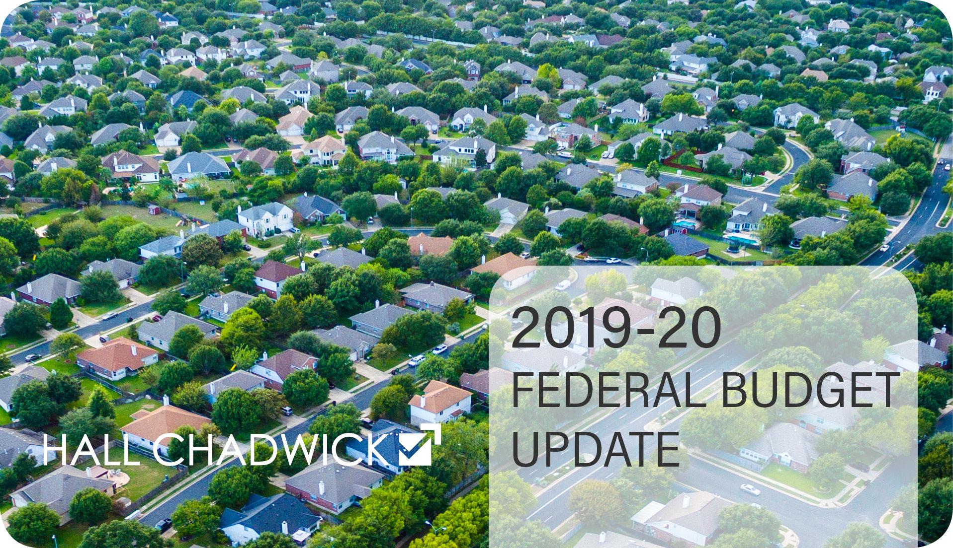 Budget Update 2019-20